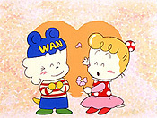 Chan Daisakusen Red String Of Rival Cartoon Funny Pictures