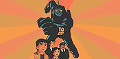 Tetsujin Tai Tetsujin (The Robot Runners) Cartoon Character Picture