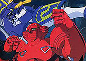 Kimeru! Sekai Saikyo Robo (Decision! The Worlds Strongest Robot) Picture To Cartoon
