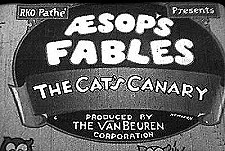 Aesop's Fables Theatrical Cartoon Series Logo