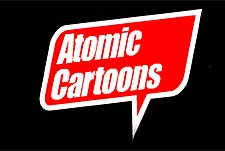 Atomic Cartoons Studio Logo