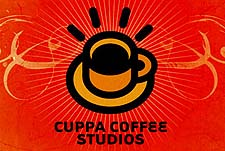 Cuppa Coffee Animation Studio Logo