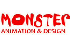 Monster Animation and Design Studio Logo