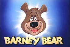 Barney Bear Theatrical Cartoon Series Logo