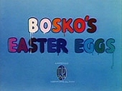 Bosko's Easter Eggs Cartoon Picture