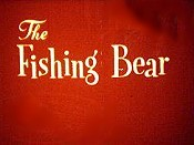 The Fishing Bear Free Cartoon Picture