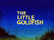 The Little Goldfish Cartoon Character Picture