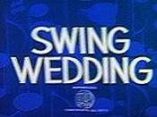 Swing Wedding Cartoon Picture