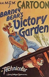 Barney Bear's Victory Garden Cartoon Picture