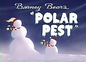 Barney Bear's Polar Pest Free Cartoon Picture