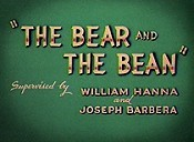 The Bear And The Bean Picture To Cartoon