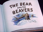The Bear And The Beavers Free Cartoon Picture