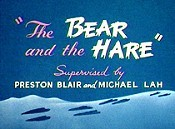 The Bear And The Hare Free Cartoon Picture