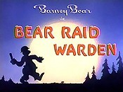 Bear Raid Warden Free Cartoon Picture