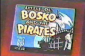 Little Ol' Bosko And The Pirates Cartoon Picture