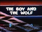 The Boy And The Wolf Picture Of Cartoon