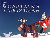 The Captain's Christmas Free Cartoon Picture