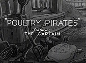 Poultry Pirates Free Cartoon Picture