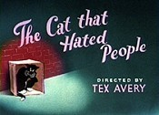 The Cat That Hated People Cartoon Picture