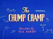 The Chump Champ Cartoon Character Picture