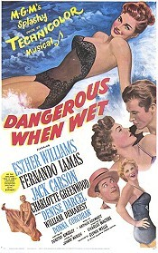 Dangerous When Wet Cartoon Picture