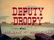 Deputy Droopy Free Cartoon Picture