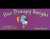 One Droopy Knight Cartoon Character Picture