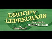 Droopy Leprechaun Cartoon Character Picture