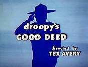 Droopy's Good Deed Pictures In Cartoon