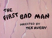 The First Bad Man Picture To Cartoon