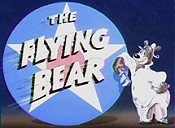 The Flying Bear Free Cartoon Picture