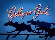 Gallopin' Gals Picture To Cartoon