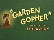 Garden Gopher Cartoon Picture