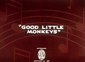Good Little Monkeys Cartoon Pictures