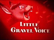 Little Gravel Voice Picture To Cartoon