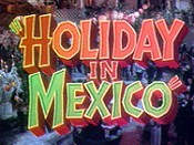 Holiday In Mexico  Cartoon Character Picture
