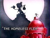 The Homeless Flea Cartoon Picture