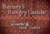 Barney's Hungry Cousin Video