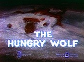 The Hungry Wolf Cartoon Character Picture