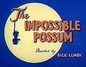 The Impossible Possum Cartoon Picture