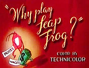 Why Play Leap Frog? Picture Of Cartoon