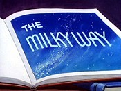 The Milky Way Cartoon Character Picture