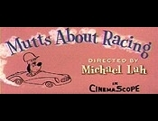 Mutts About Racing Cartoon Character Picture