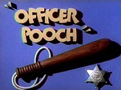 Officer Pooch Cartoon Character Picture