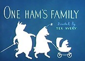 One Ham's Family Free Cartoon Picture