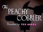 The Peachy Cobbler Cartoon Picture