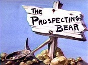 The Prospecting Bear Free Cartoon Picture