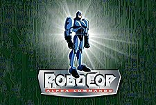 RoboCop- Alpha Commando Episode Guide Logo
