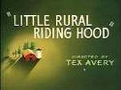 Little Rural Riding Hood Cartoon Character Picture