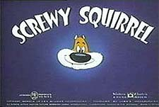 Screwy Squirrel Theatrical Cartoon Series Logo